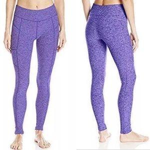 Beyond Yoga Seamed Pocket Leggings purple